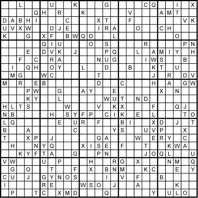 photo relating to Monster Sudoku Printable known as The Vast Planet of Sudoku  Blog site