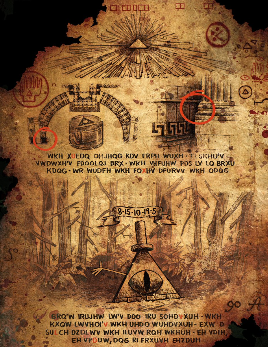 The Gravity Falls Cipher Hunt! | PuzzleNation com Blog