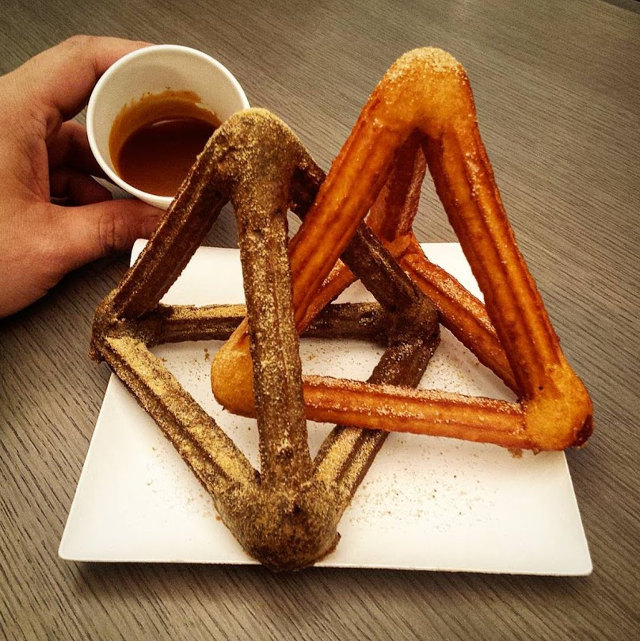 Geometric Churros 1