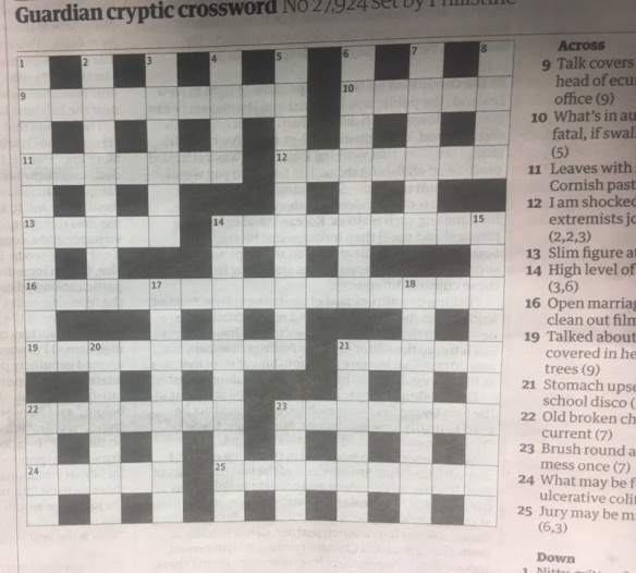 Cryptic Crossword Puzzlenation Com Blog