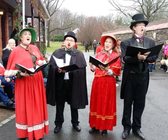 village-carolers