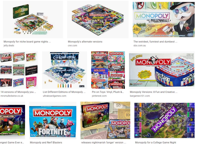 monopolyvariations