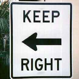 保持正确的错误方向