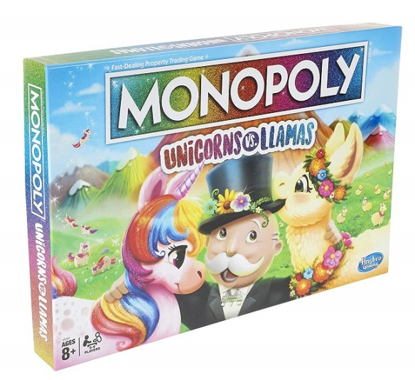 Monopoly-Unicorns-Vs.-Llamas-Board-Game