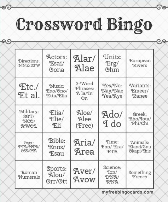 xwd bingo 2