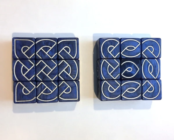 blue knot dice