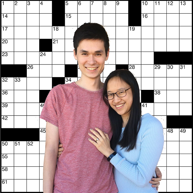 Kevin and May - crossword background