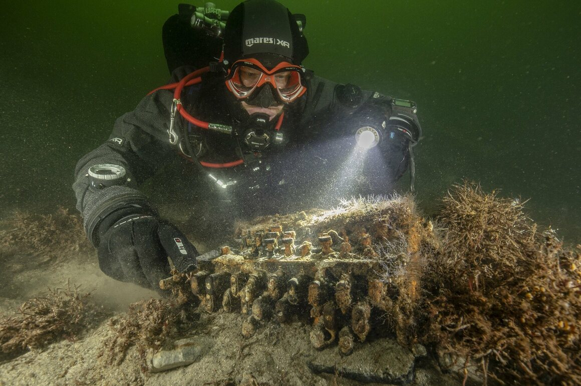 underwater enigma