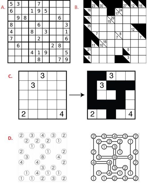 nikoli puzzles